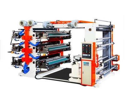 6color flexographic printing machine